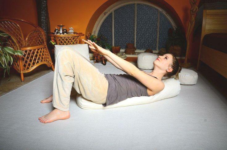 Pilates hengerpárna