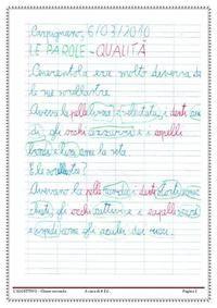 Percorso didattico sull'aggettivo qualificativo nella scuola primaria