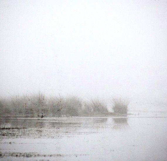 Mist art - Mist photography - Fog-   Fine art photography print -  Nature - Fenland - 7x7. €21,00, via Etsy.