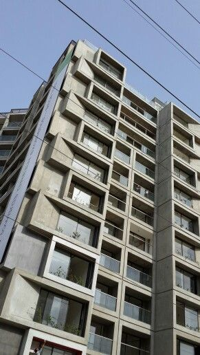Residential building in Ahmedabad getting completed .