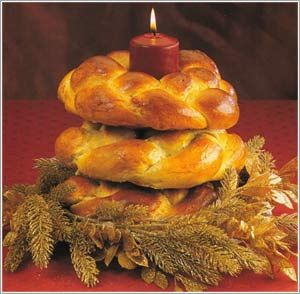 Ukrainian Christmas Eve Menu and Recipes (Photo pampushky, Kolach, Kutia, Borsch,Varenyky)