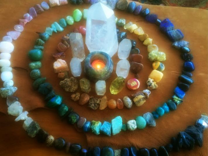 So many people ask me HOW to use the gems and crystals they buy and collect. It's important to use them, and not just put them in a drawer or cabinet where they can't be appreciated or experienced. Gems are meant to take the journey with you! Remember gems emit energetic vibrations that impact you sense, feel, and move in your space. To help you get the most out of your work with them, here are ten magical ways to use gemstones. I hope they inspire you!