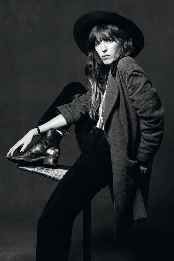 French girl style: Lou Doillon #style #fashion