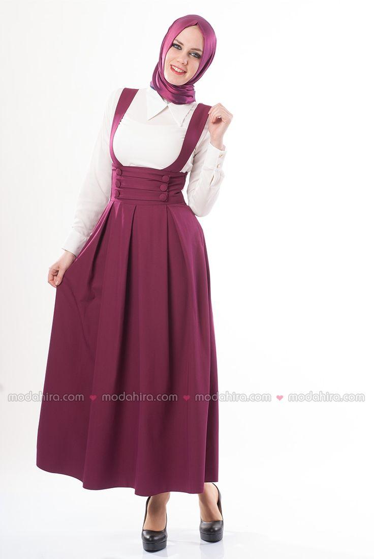 Bağcıklı Fuşya Jile Elbise - Ürün kodu: 4000-01 Tesettür elbiseler ile en şık olmaya hazırlanın. Sipariş için 0850 811 80 30 #modahira #elbise #tesettür #hijab