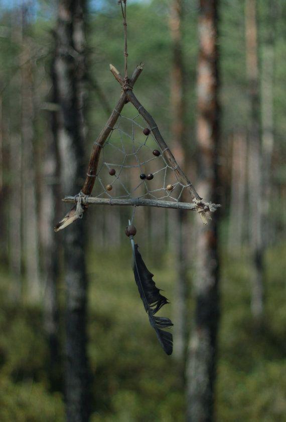 Tribal dream catcher Slavic dreamcatcher Family totem by Ruscraft