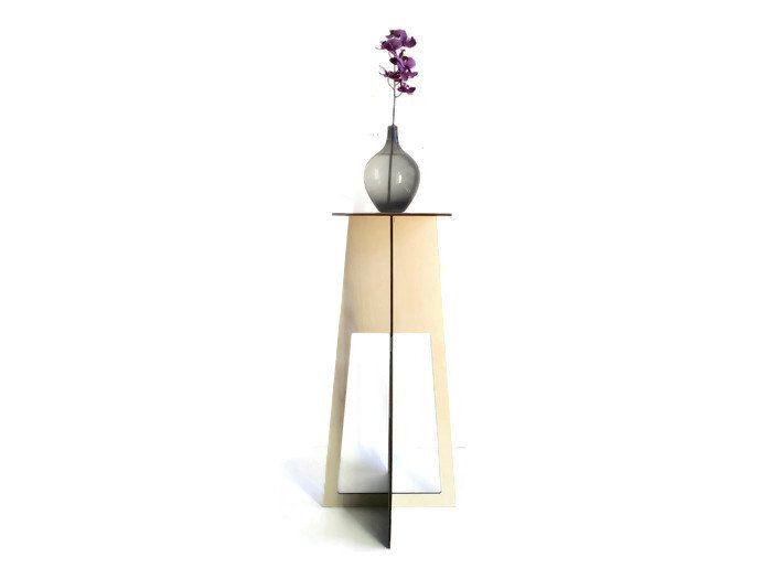 Laser cut wood pedestal table,eco furniture home,living room table,wooden end table,modern side table,modern end table,wood minimalist table by DigitalHandmade on Etsy https://www.etsy.com/listing/223993194/laser-cut-wood-pedestal-tableeco