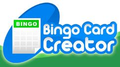 Bingo Card Creator lets teachers and parents make custom printable bingo cards for instructional and entertainment purposes.