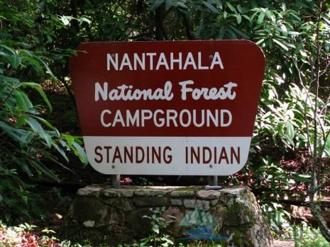 Standing Indian Campground | Camping in Nantahala National Forest | Franklin NC