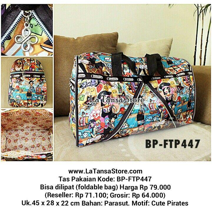 Travel Bag Tas Pakaian Bisa Dilipat Bahan Parasut Website: www.latansastore.com FB Page: La Tansa Store Serius Order: Kode Tas + Nama + Alamat + No.HP :: Website :: Inbox FB :: BBM 76221983 (CS 1) atau 29855A43 (CS 2) :: SMS 08155 012 474 :: WA/LINE 0852 885 886  81 Pembayaran: Mandiri/BCA/BNI/BRI Pengiriman: JNE/Tiki/Pos Indonesia Harga BELUM termasuk ongkir  La Tansa Store - Toko Tas Online: Tas Import Murah  Tas Pakaian Kode: BP-FTP447 Bisa dilipat (foldable bag) Harga Rp 79.000…