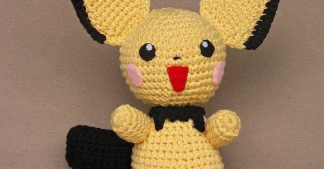 July 08, 2009  This is the Pichu doll I just finished up for my youngest daughter who is probably the world's biggest Pichu fan.   I must a...