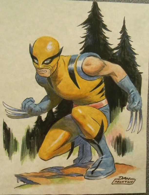 Wolverine First Appearance by Dan Morton - W.B.