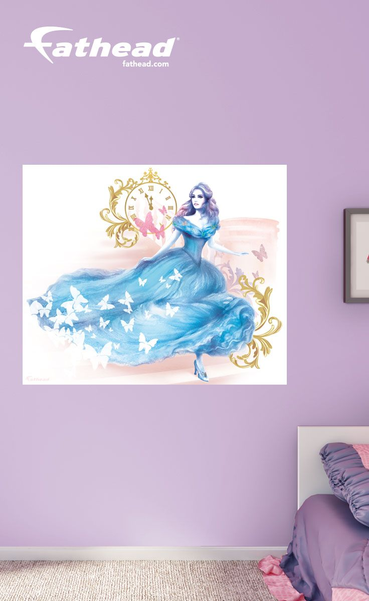 Disney Wall Decals | With This Cinderella Wall Mural, You Can Easily Turn  Your Kids