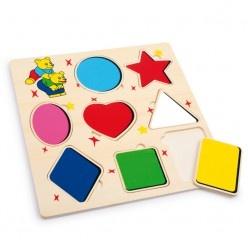 Puzzle – učíme sa tvary