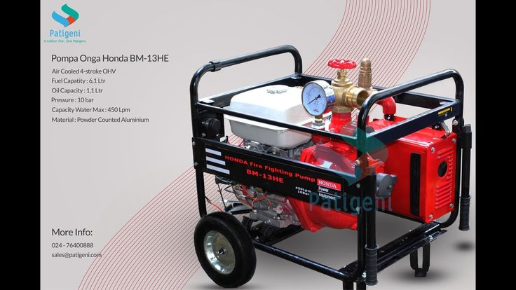 Pompa Kebakaran Portable Onga Honda BM13