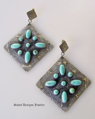 Native American Turquoise Jewelry   Schaef Designs