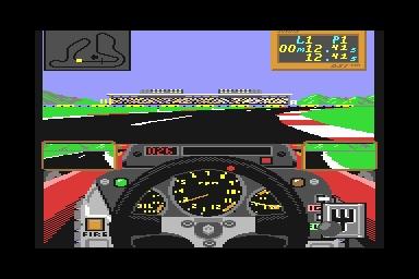 Grand Prix Circuit - Commodore 64