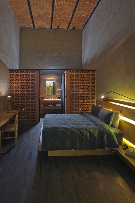 Downtown cherem arquitectos bedrooms for Downtown boutique hotel
