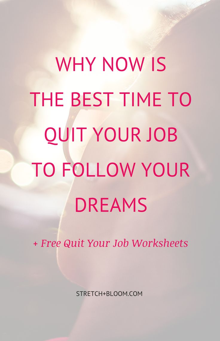 With rumors of economic doom getting louder, it�s easy to get scared for your professional future and relegate following your dreams to the back burner.  However, if you look at things the right way it could be a fantastic opportunity in disguise to finally follow your dreams. Here�s why: