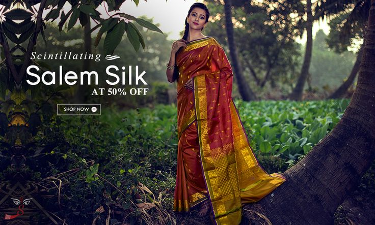 Grand Finale to a Great Year: #SalemSilks Launched at 50% OFF!