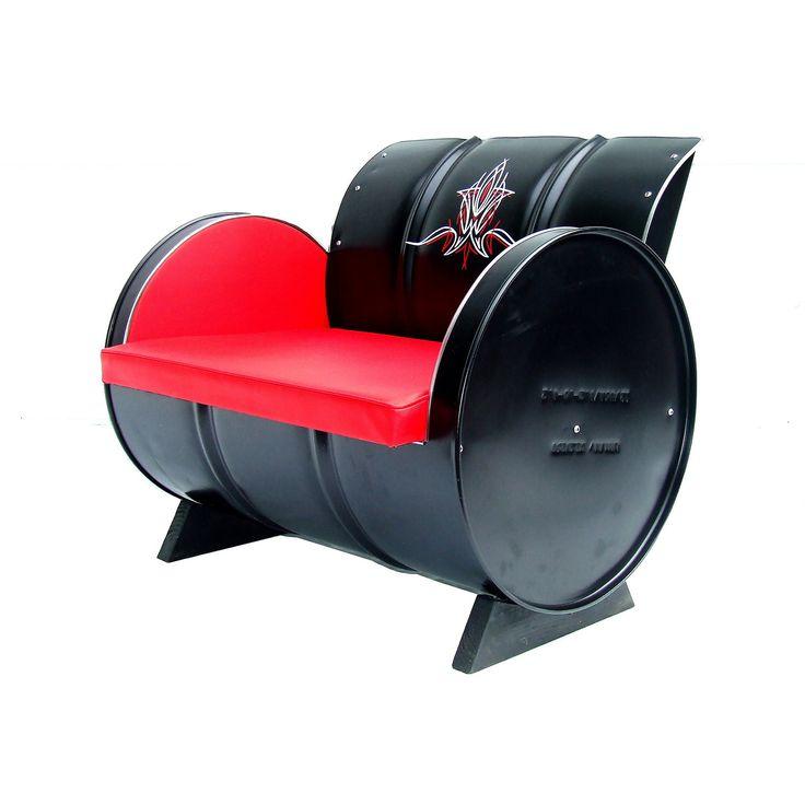 13 best 44 gallon drums images on Pinterest | Metal barrel ...