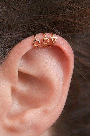Delicate Rose Gold Ear Cuffs By MayaMor | 18 Adorable Earrings For Women Without Pierced Ears