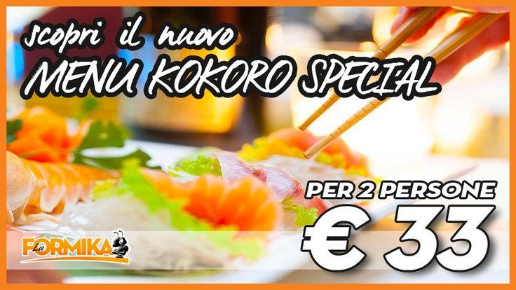 La Formika: Raffinato e Gustosissimo Menu Kokoro Special a soli €33 - Kokoro Sushi Ristorante Giapponese & Cinese #lodi #coupon #sushimania