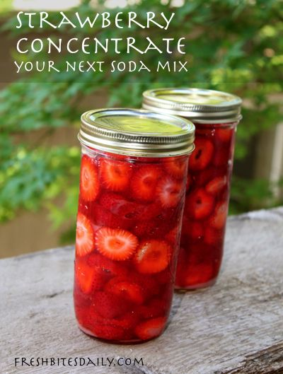 Strawberry lemonade concentrate — A new beverage experience