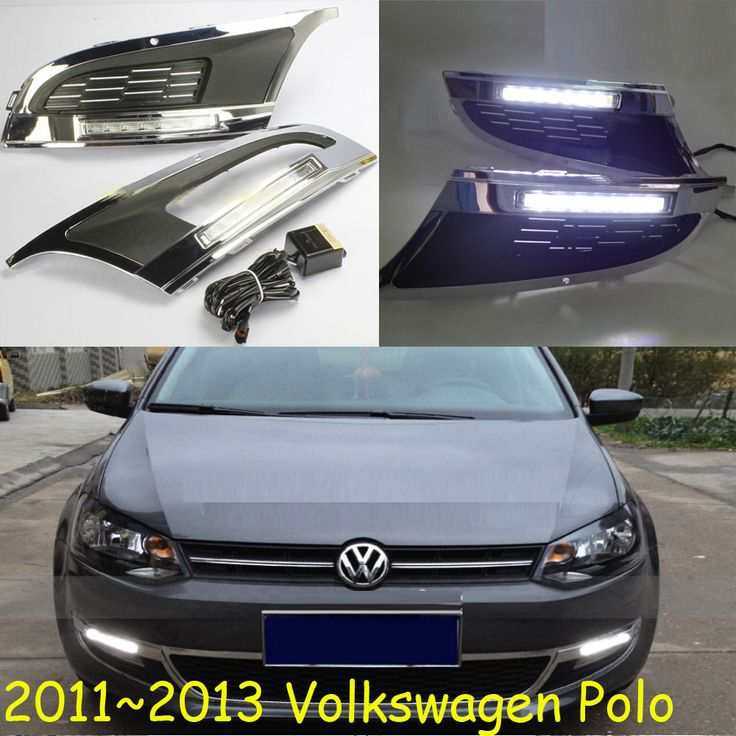 POLO daytime light;2011~2013/(2015~2017 POLO,Pls send your car picture in order) Free ship!LED,POLO fog light,2ps/set;POLO