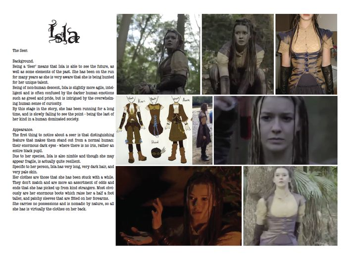 Isla: The Seer (Lara Schwerdt) by ~alexthegiles on deviantART