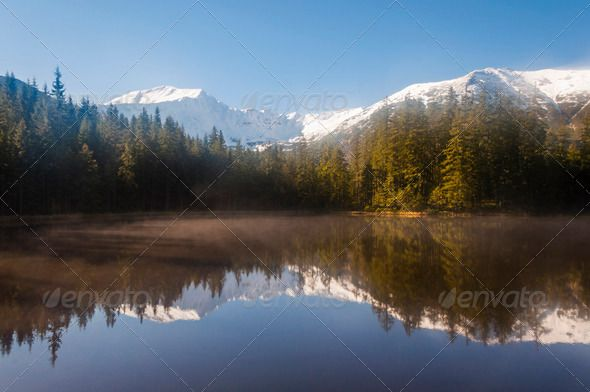 Winter Landscape. Tatra Mountains in Poland.