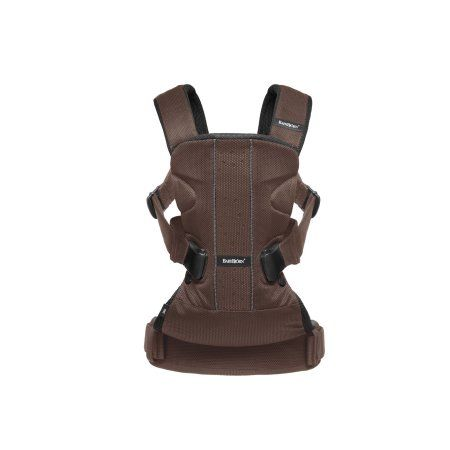 Babybjrn Baby Carrier One Air - Brown/Black, Mesh