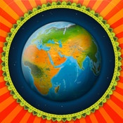 Barefoot World Atlas. This interactive and informative app brings the atlas to life. Move the 3D globe to navigate around the world, touch on places and iconic buildings to read and view more information. A well designed digital multimodal text.