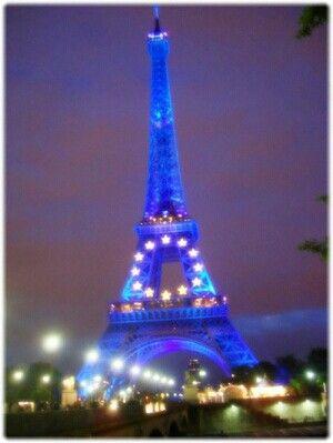 2008년의 에펠탑