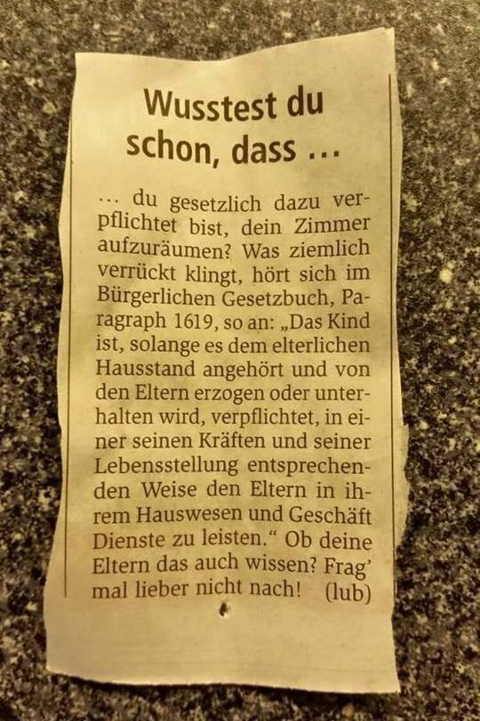 Wusstest du schon, dass ... #derneuemann #humor #lustig #spaß