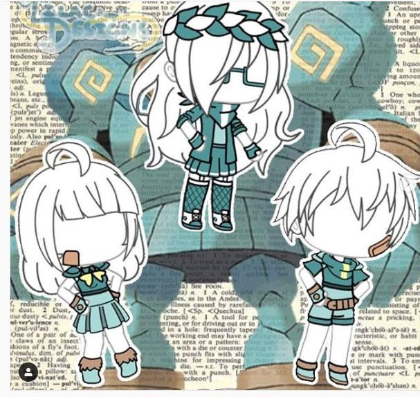 A Gacha Outfit Character Outfits Anime Outfits Drawing Clothes
