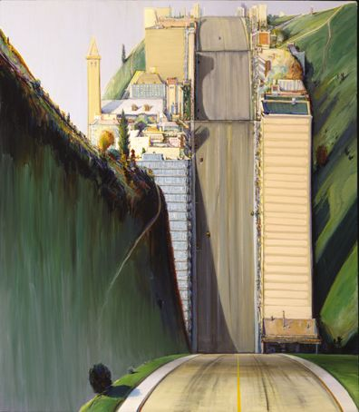 Artists I Love – Wayne Thiebaud – Winter Weekend series