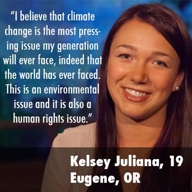 "21 youths file landmark climate lawsuit against federal government in the US | ""In causing climate change, the federal government has violated the youngest generation's constitutional rights to life, liberty, property and has failed to protect essential public trust resources."" On International Youth Day, 21 young people from across the U.S. filed a landmark constitutional climate change lawsuit against the federal government in the U.S. District Court for the District of Oregon."