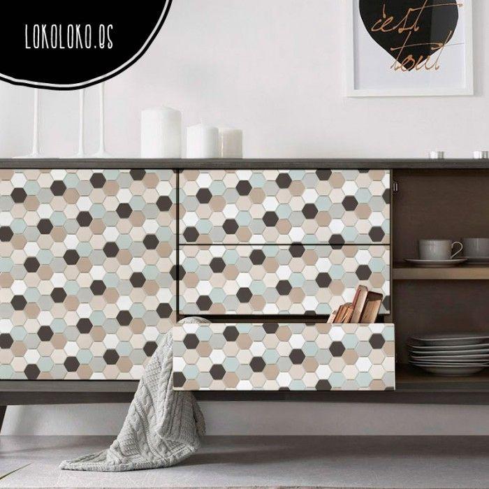 Las 25 mejores ideas sobre vinilos para muebles en - Vinilos para cajones ...