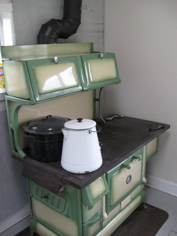 Nice Article about Wood Cookstoves with a Link to our Blog