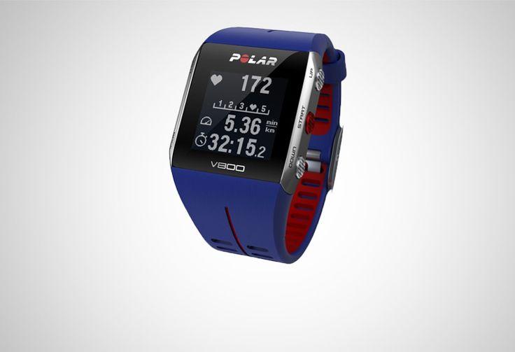 #Polar V800 GPS HRM blue