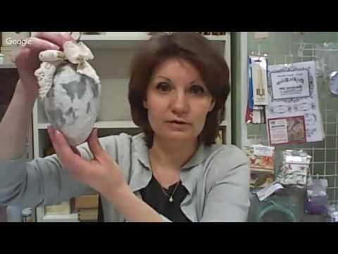 12 й день конференции «Весенние декупажные встречи» Анна Стойчева - YouTube