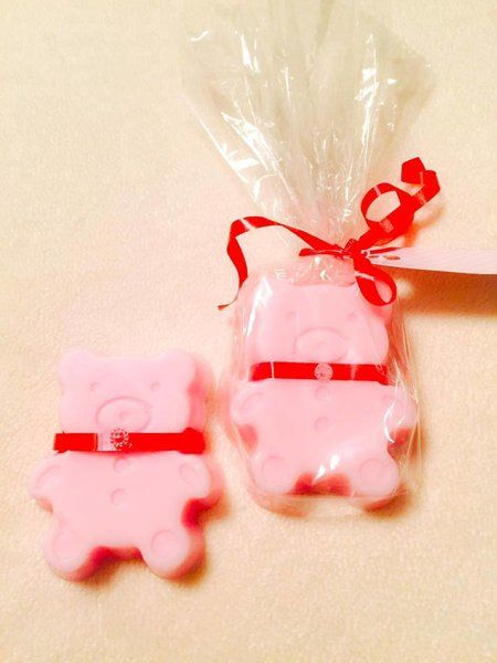 Adorable gummy bear shaped soaps from LatherSplendid.com !