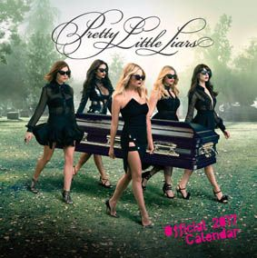 New Official Pretty Little Liars 2017 Calendar available with FREE UK P&P (plus worldwide delivery available) at http://bit.ly/TVCals2017