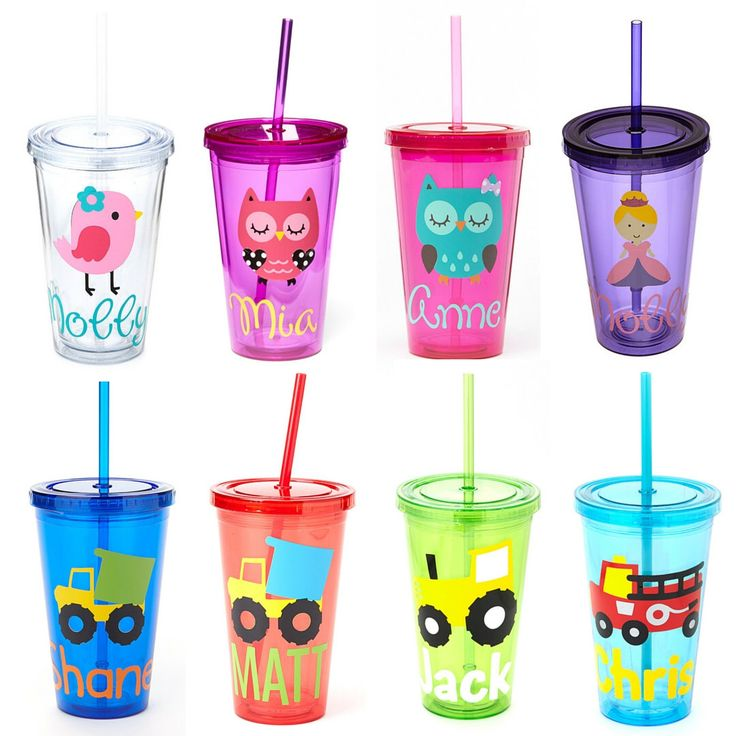 SALE! Personalized Acrylic Tumbler, Kids Personalized Tumbler, Teacher Tumbler- Great Kids Party Favor by EllerysDesigns on Etsy https://www.etsy.com/listing/270321104/sale-personalized-acrylic-tumbler-kids