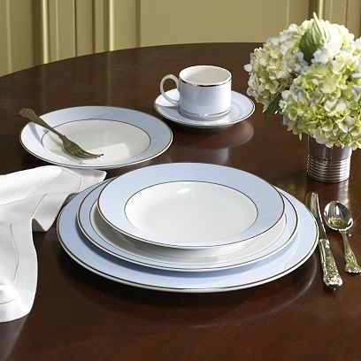 CHEAP TO CHIC: ON THE EDGE WITH A CLASSIC DINNERWARE PATTERN!