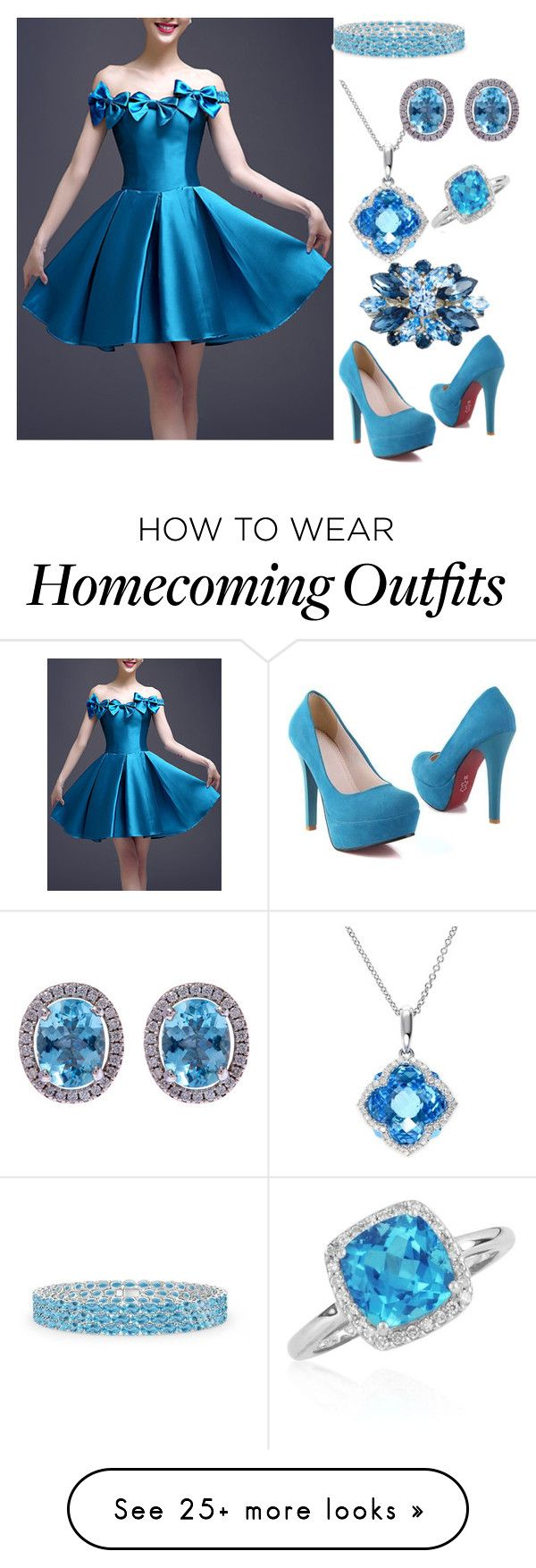 """""""Untitled #200"""" by sammur-sarah on Polyvore featuring WithChic, Belk & Co., Effy Jewelry and L. Erickson"""