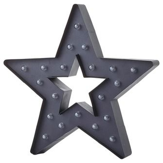 Lamp ster metaal zwart, alles voor je klus om je huis & tuin te verfraaien vind je bij KARWEI