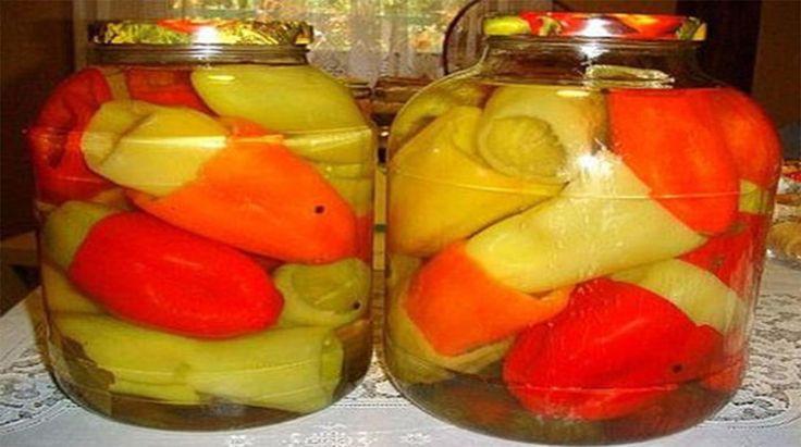 Ardei marinați fără sterilizare - descoperiți cel mai simplu și rapid mod de conservare a ardeilor grași pentru iarnă! - Bucatarul