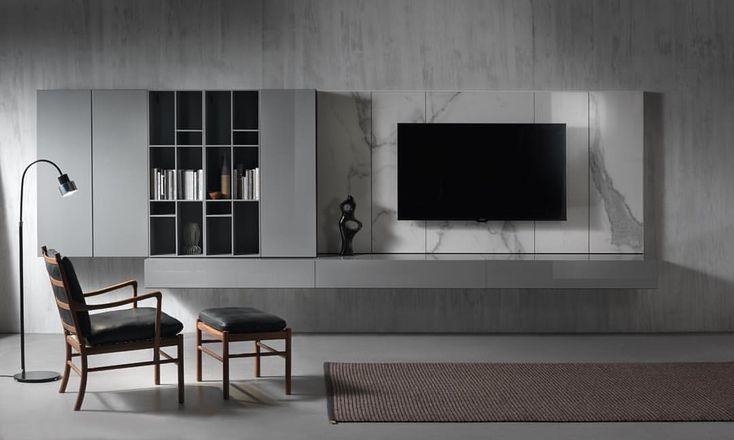 Kimada floor lamp black lacquered for Acerbis International | Designer William Pianta | Made in Italy