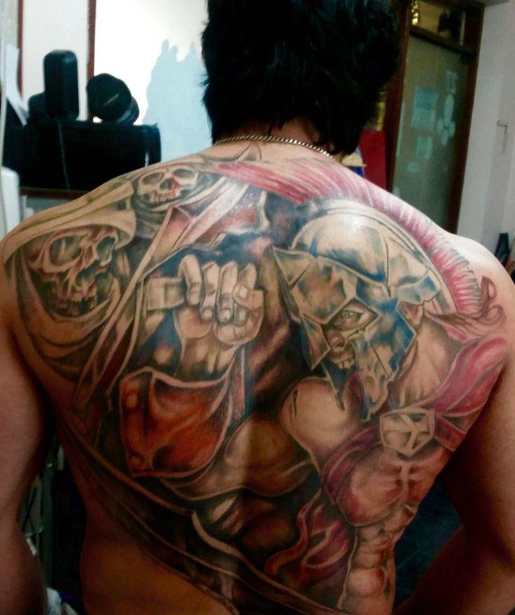 Spartan tatoo